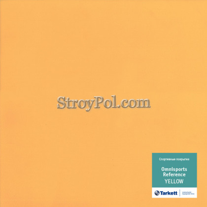 Линолеум Tarkett Omnisports R65 Yellow
