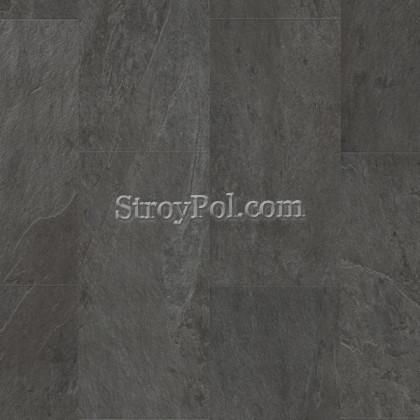Виниловая плитка Quick-Step Ambient Click Сланец Черный AMCL40035