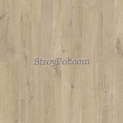 Виниловый ламинат Quick-Step Alpha Vinyl Medium Planks AVMP40103 Дуб Хлопковый Бежевый