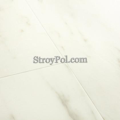 Виниловый ламинат Quick-Step Alpha Vinyl Tiles AVST40136 Мрамор Каррарский Белый