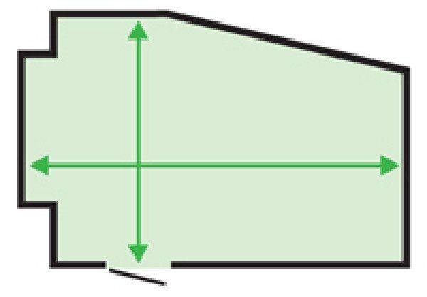 Как измерить комнату, для заказа линолеума?